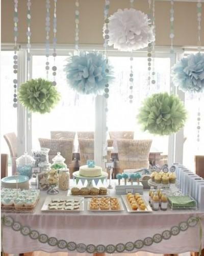 les plus belles d corations de baby shower 1 tout sur la baby shower. Black Bedroom Furniture Sets. Home Design Ideas