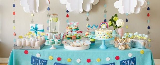 les plus belles d corations de baby shower 1